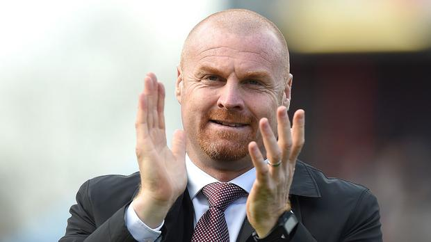 Burnley manager Sean Dyche, pictured, has no issues with his Leicester counterpart Nigel Pearson