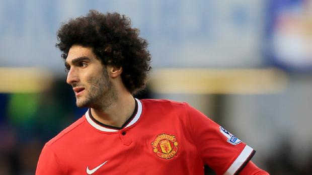 Marouane Fellaini has been one of United's best players recently