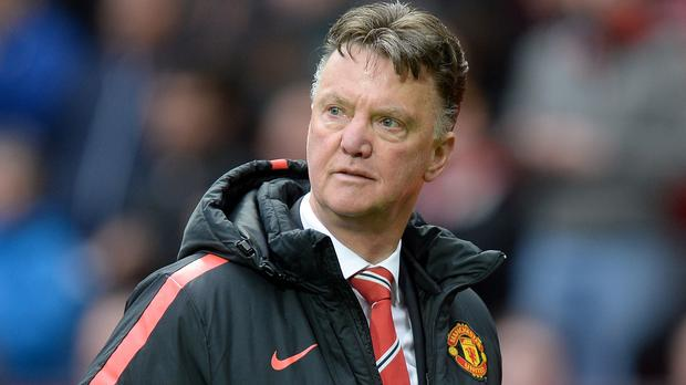 Louis van Gaal's Manchester United side are 11 points adrift of Chelsea in the Barclays Premier League