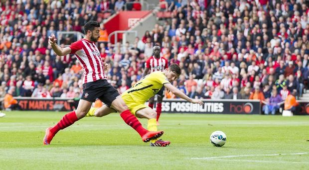 Graziano Pelle scored a brace in Southampton's 2-2 draw with Tottenham