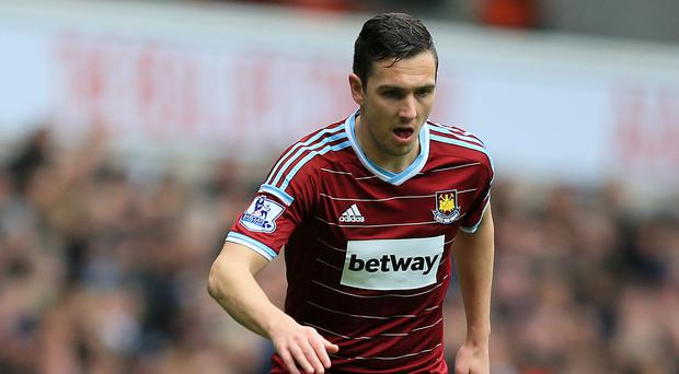 Stewart Downing, pictured, says West Ham's players are behind manager Sam Allardyce