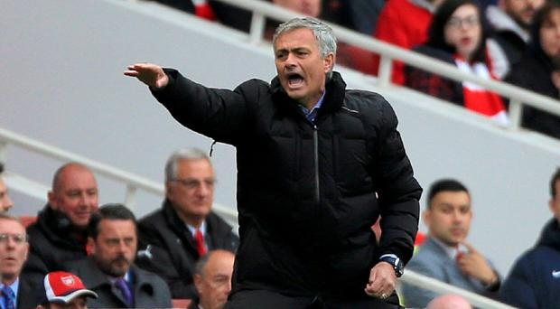 Jose Mourinho's Chelsea need five more points to be crowned Premier League champions