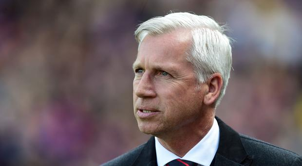 Crystal Palace manager Alan Pardew, pictured, believes referees should not have to control Premier League timekeeping