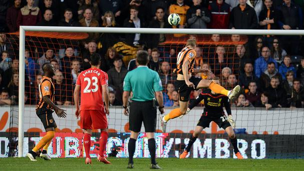 Michael Dawson heads home the winner