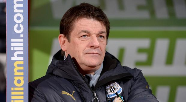 Newcastle head coach John Carver is to meet two fans with whom he became involved in an angry exchange