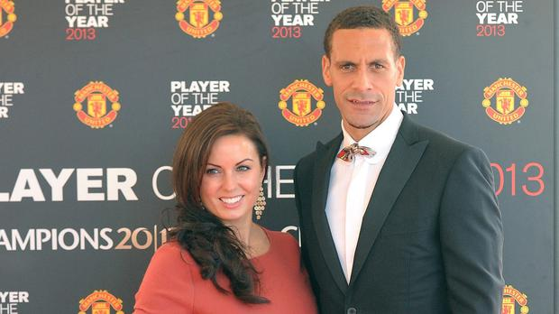 Rio Ferdinand's wife Rebecca has passed away