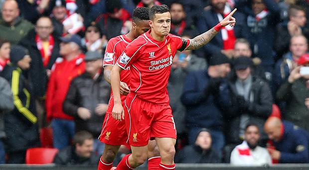 Philippe Coutinho scored for Liverpool