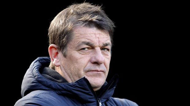 John Carver watched his Newcastle side lose to Leicester