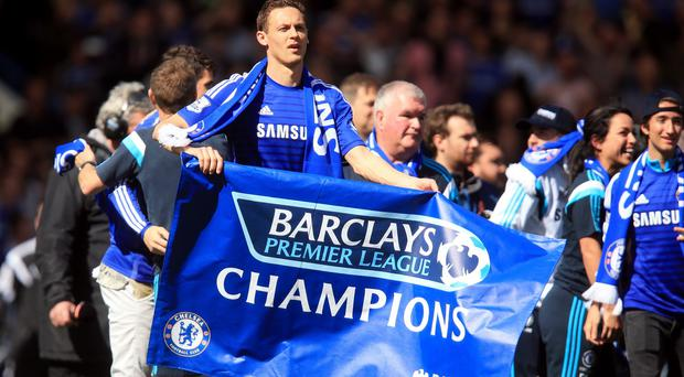 The Premier League success is Jose Mourinho's third with the club