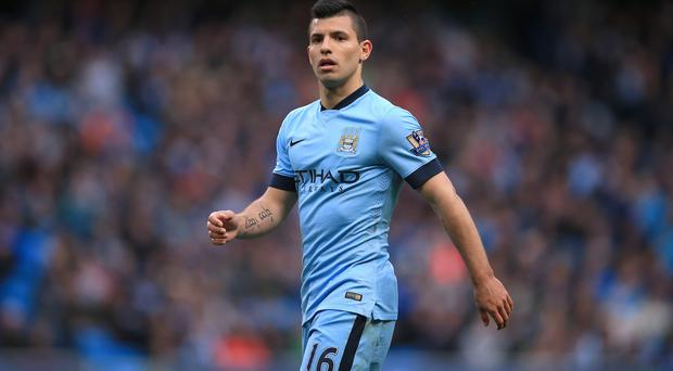 Sergio Aguero scored for Manchester City at White Hart Lane