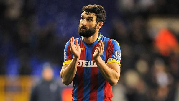 Crystal Palace boss Alan Pardew insists the status of Mile Jedinak, pictured, at Selhurst Park is not in doubt