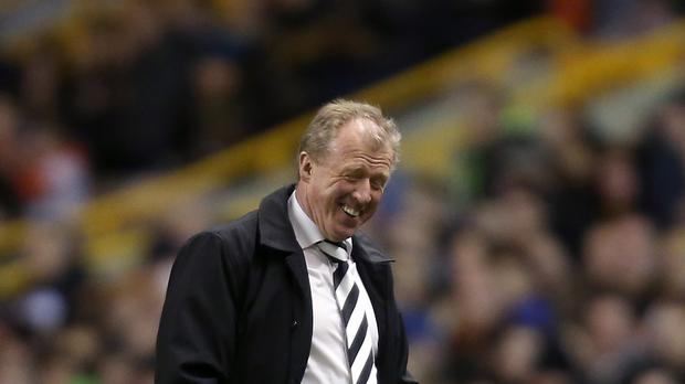 Steve McClaren insists he is committed to Derby despite reports linking him with Newcastle