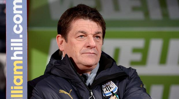 Newcastle head coach John Carver faces a crucial game against West Brom on Saturday