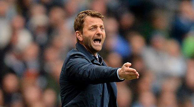 Tim Sherwood, pictured, believes Sam Allardyce deserves respect for the job he has done at West Ham