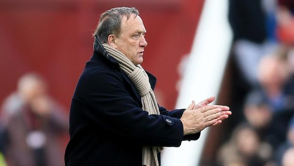 Sunderland head coach Dick Advocaat has challenged his players to keep their fate in their own hands