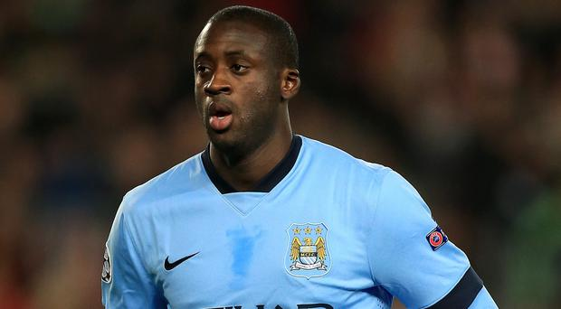 Manchester City midfielder Yaya Toure celebrates his 32nd birthday on Wednesday