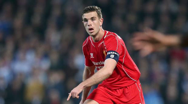 Jordan Henderson and his Liverpool team-mates will applaud Chelsea onto the field on Sunday