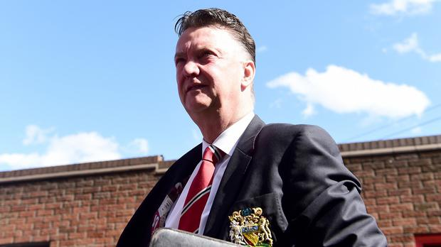 Louis van Gaal praised the fighting spirit of his squad