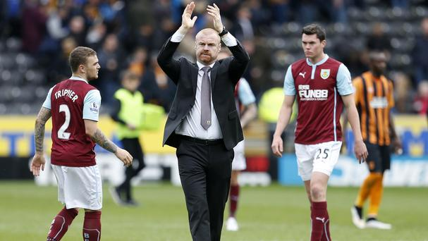 Sean Dyche's side are heading back to the Championship