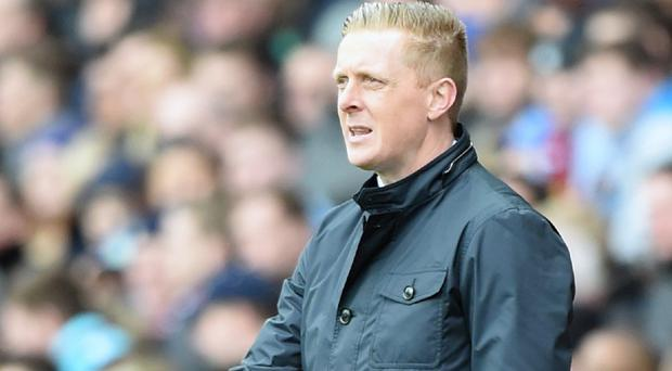 Swansea manager Garry Monk takes his side to the Emirates on Monday night
