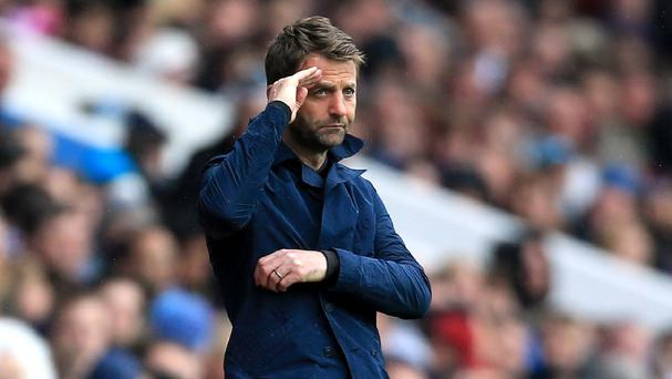 Tim Sherwood's side need one more win to guarantee safety