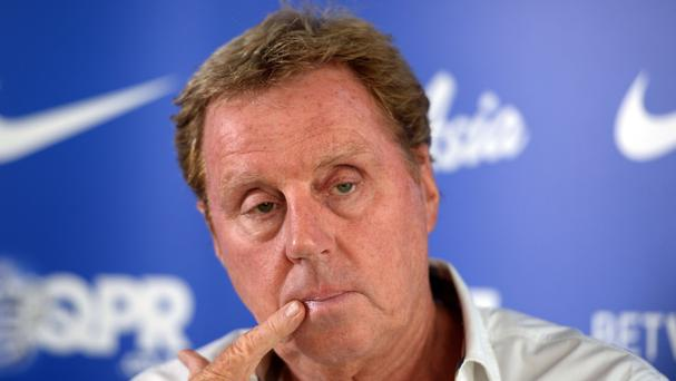 Harry Redknapp, pictured, has admitted QPR's Premier League relegation stemmed from recruitment shortcomings last summer