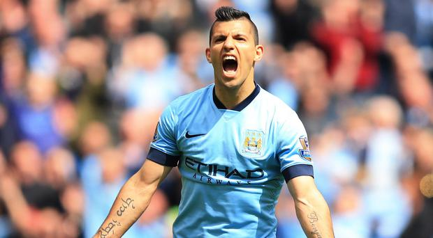 Sergio Aguero's hat-trick put QPR to the sword on Sunday