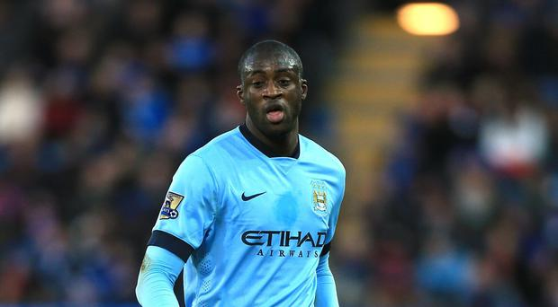 Yaya Toure has had a frustrating year at City