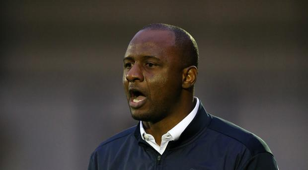 Manchester City Under-21s boss Patrick Vieira would like to see Premier League B teams in the lower leagues