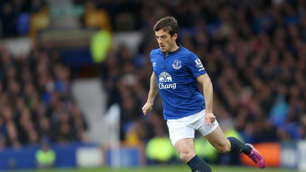 An ankle operation has ruled out Leighton Baines until pre-season