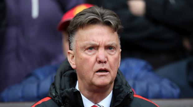 Louis van Gaal looks certain to guide Manchester United into the Champions League