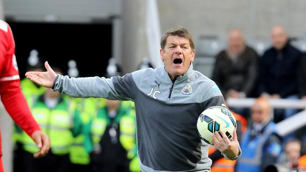 Newcastle head coach John Carver is refusing to be distracted