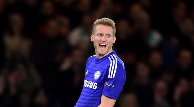 Andre Schurrle will receive a Premier League winners' medal