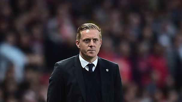 Swansea manager Garry Monk has opened talks over a new contract at the Liberty Stadium