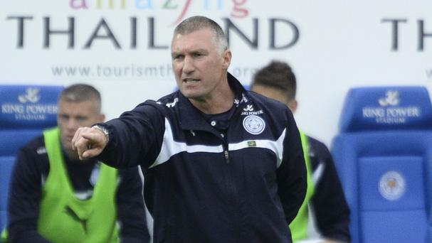 Nigel Pearson has guided Leicester to the brink of safety in the Barclays Premier League this season
