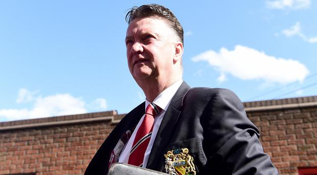 Louis van Gaal is hoping to finish third