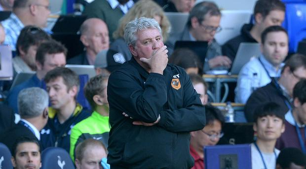 Hull are on the brink of relegation after defeat at Tottenham.