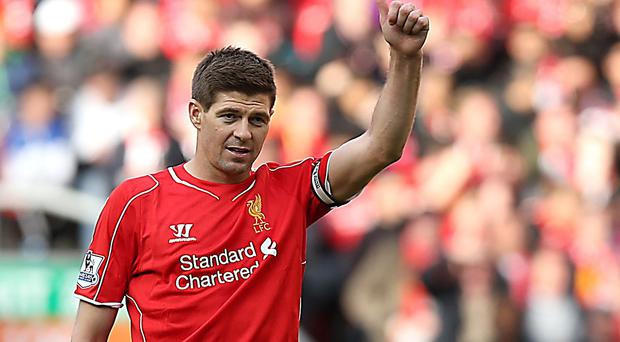Steven Gerrard could not inspire his side to victory