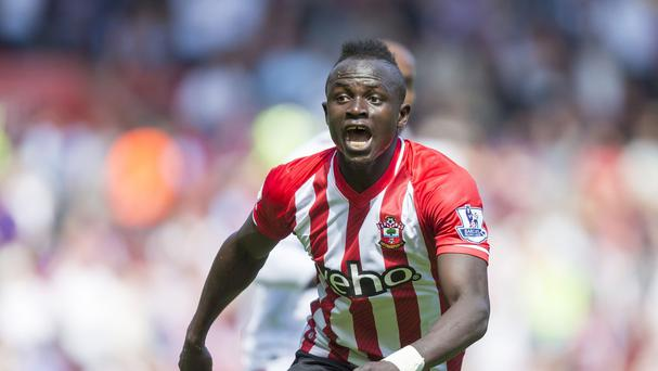 Southampton's Sadio Mane scored the fastest Premier League hat-trick