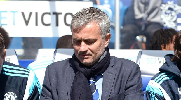 Jose Mourinho insists there is 'no pressure' on Chelsea, who play West Brom on Monday