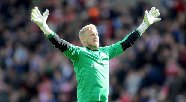 Kasper Schmeichel has helped Leicester pick up 19 points from the last 24 on offer