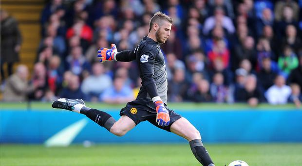 Goalkeeper David De Gea could have played his final game for Manchester United, manager Louis van Gaal has hinted