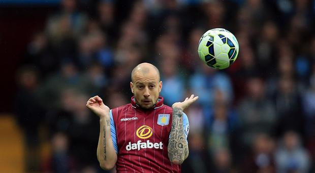 Alan Hutton wants a better Aston Villa performance against Burnley