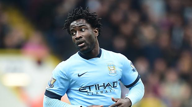Wilfried Bony, pictured, will be a major player at Manchester City next season says his manager Manuel Pellegrini