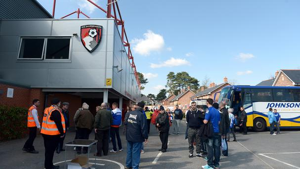 Bournemouth have no plans to expand the Goldsands' capacity