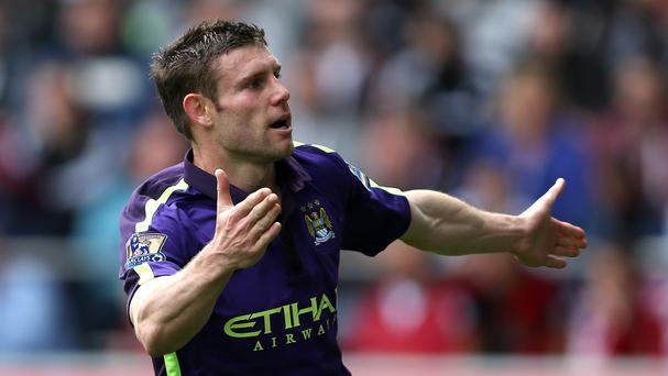 Manchester City are keen to keep midfielder James Milner, who is out of contract in the summer