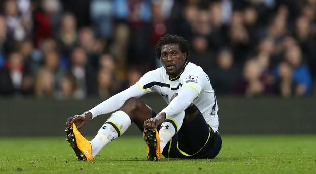 Emmanuel Adebayor says he has contemplated suicide due to a family feud