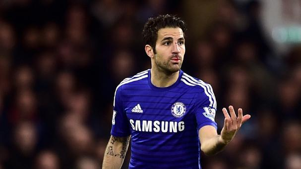 Cesc Fabregas has had his three-match ban cut to one