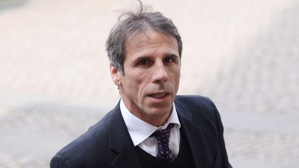 Gianfranco Zola, pictured, believes Eden Hazard can only get better at Chelsea