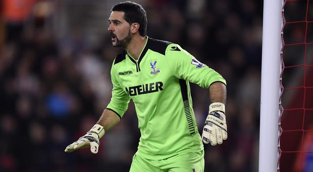 Julian Speroni has signed a contract extension at Crystal Palace